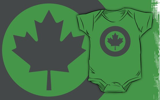 Royal Canadian Air Force Insignia (Low Vis) by warbirdwear
