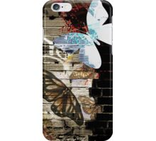 Metamorphose (Urban butterfly art) iPhone Case/Skin