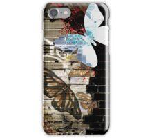 Metamorphose (Urban butterfly art) iPhone Case/Skin