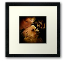 How I Could Love You This Much Framed Print