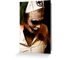 I told you I would be back.... Greeting Card