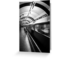 In The Tube Greeting Card