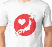 Love for Japan Unisex T-Shirt