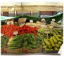 Veggies for Sale. Poster