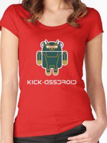 Kick-Assdroid Women's Fitted Scoop T-Shirt