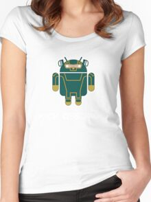 Kick-Assdroid Women's Fitted Scoop T-Shirt