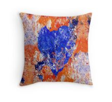 Cold, Cold Heart Throw Pillow