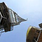 Cranes, Bristol Docks. by MWhitham