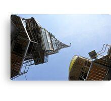 Cranes, Bristol Docks. Canvas Print