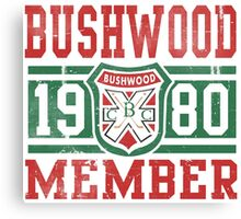 Retro Bushwood 1980 Member Canvas Print
