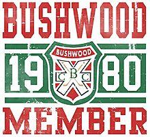 Retro Bushwood 1980 Member Photographic Print