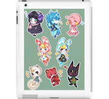 Animal Crossing set 1 iPad Case/Skin