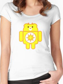 DROIDSHINE BEAR Women's Fitted Scoop T-Shirt
