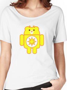 DROIDSHINE BEAR Women's Relaxed Fit T-Shirt