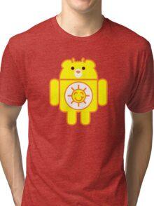 DROIDSHINE BEAR Tri-blend T-Shirt