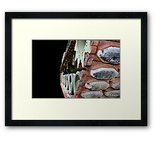 Keep 'Em Rolling - M48A2 military tank vehicle Framed Print