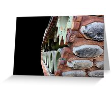 Keep 'Em Rolling - M48A2 military tank vehicle Greeting Card