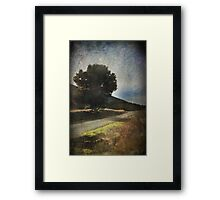 Been Down That Road Before Framed Print
