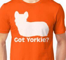 Got Yorkie? (Dark) Unisex T-Shirt