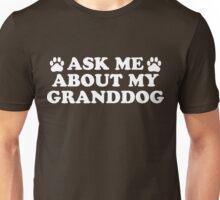 Ask About Granddog (Dark) Unisex T-Shirt