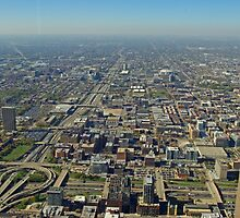 West Chicago from the Sears Tower by TeaCee