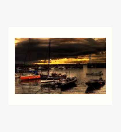 Storm Over Newhaven Art Print