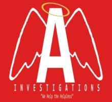 Angel Investigations Logo Baby Tee