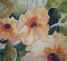 Orange sherbet blooms by Ellen Keagy