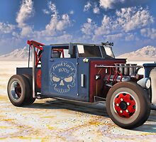 Hot Rod Tow Truck by kenmo