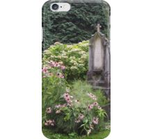 Flowered grave iPhone Case/Skin