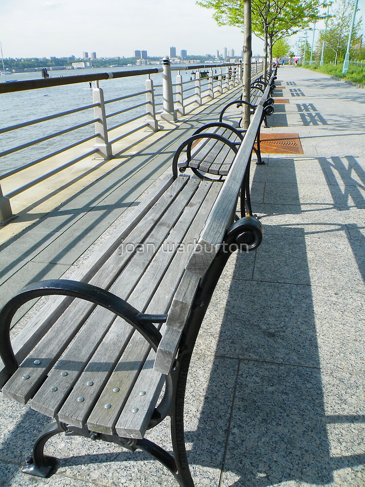 All My Benches In A Row by joan warburton
