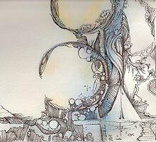 Mermaids within by Ellen Keagy