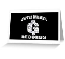GOTH MONEY RECORDS Greeting Card
