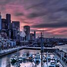 Bell Harbor Marina Seattle (#2) by Anne McKinnell