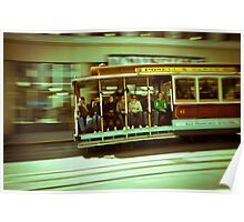 tram on the run Poster
