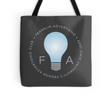 Franklin Advertising Logo (On Grey) Tote Bag