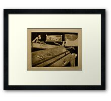 Girl's Night Out- Intaglio Prin Framed Print