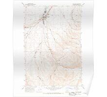 USGS Topo Map Oregon Pilot Rock 281090 1967 24000 Poster