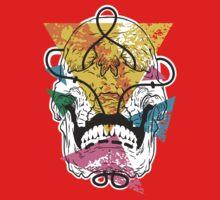Geometry Skull One Piece - Short Sleeve