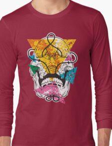 Geometry Skull Long Sleeve T-Shirt