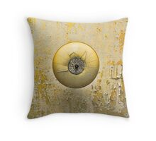 Ceiling lamp in Alcatraz Throw Pillow