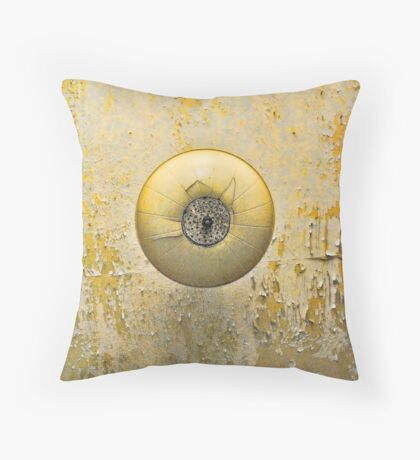 Ceiling lamp in Alcatraz Throw Pillow