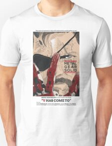 The Phantom Pain: V Has Come To T-Shirt