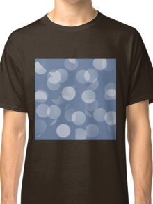 Blue and White Dots Classic T-Shirt
