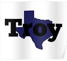 Texas - Troy Poster