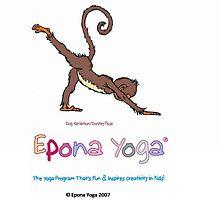 Mali Donkey Kick Down Dog by EponaYoga