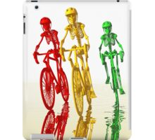 Bones on bikes iPad Case/Skin