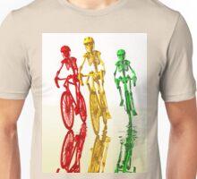 Bones on bikes Unisex T-Shirt