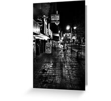 Reno Nevada at night Greeting Card