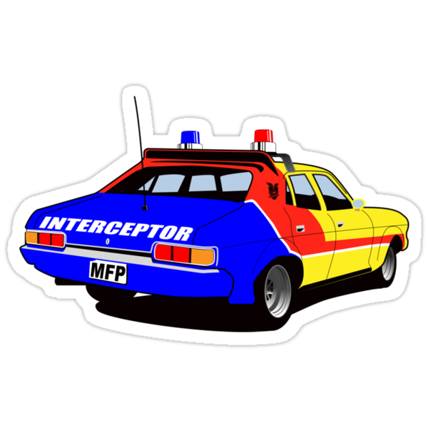 Mad Max's Interceptor by superiorgraphix